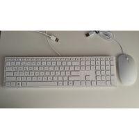 HP White Wired Keyboard Swiss