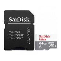 SANDISK 64Gb Ultra Microsdxc + Sd